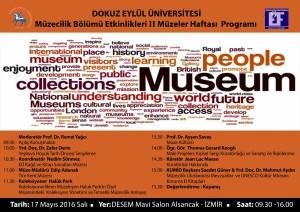 17 Mayıs 2016 Müzeler Haftası Programı