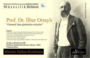18 Mayıs 2012 Müzeler Haftası Konferans
